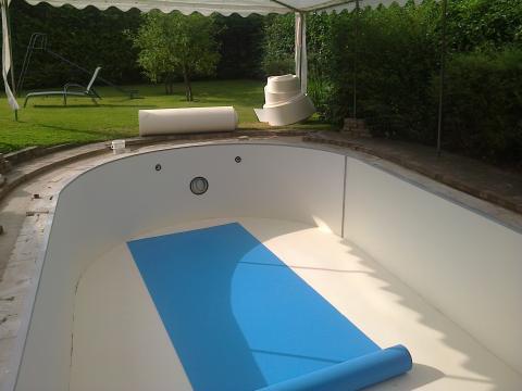 Zwembaden foliewerken rtc for Opbouw zwembaden